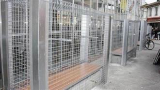防酒鬼霸佔 法小鎮將長椅加鐵籠