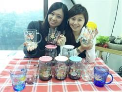 KIKI&LALA變裝  超商推浮雕玻璃杯