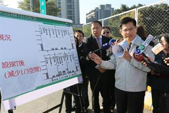 台中BRT 5條暫緩設計、重新評估