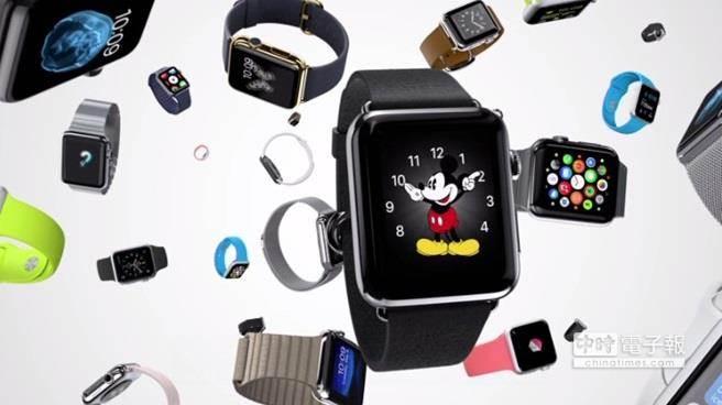 穿戴裝置正夯,Apple Watch即將加入戰局。(圖片來源:蘋果官網)