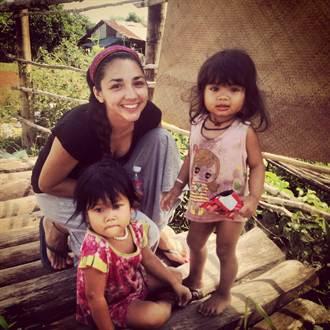 亮麗外籍生分享柬埔寨志工樂:難忘