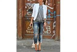 時尚邋遢一線之隔 刷破牛仔褲穿搭守則
