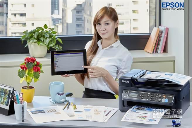 Epson推出新款 Wi-Fi雲端傳真複合機3688元起跳。(業者提供)