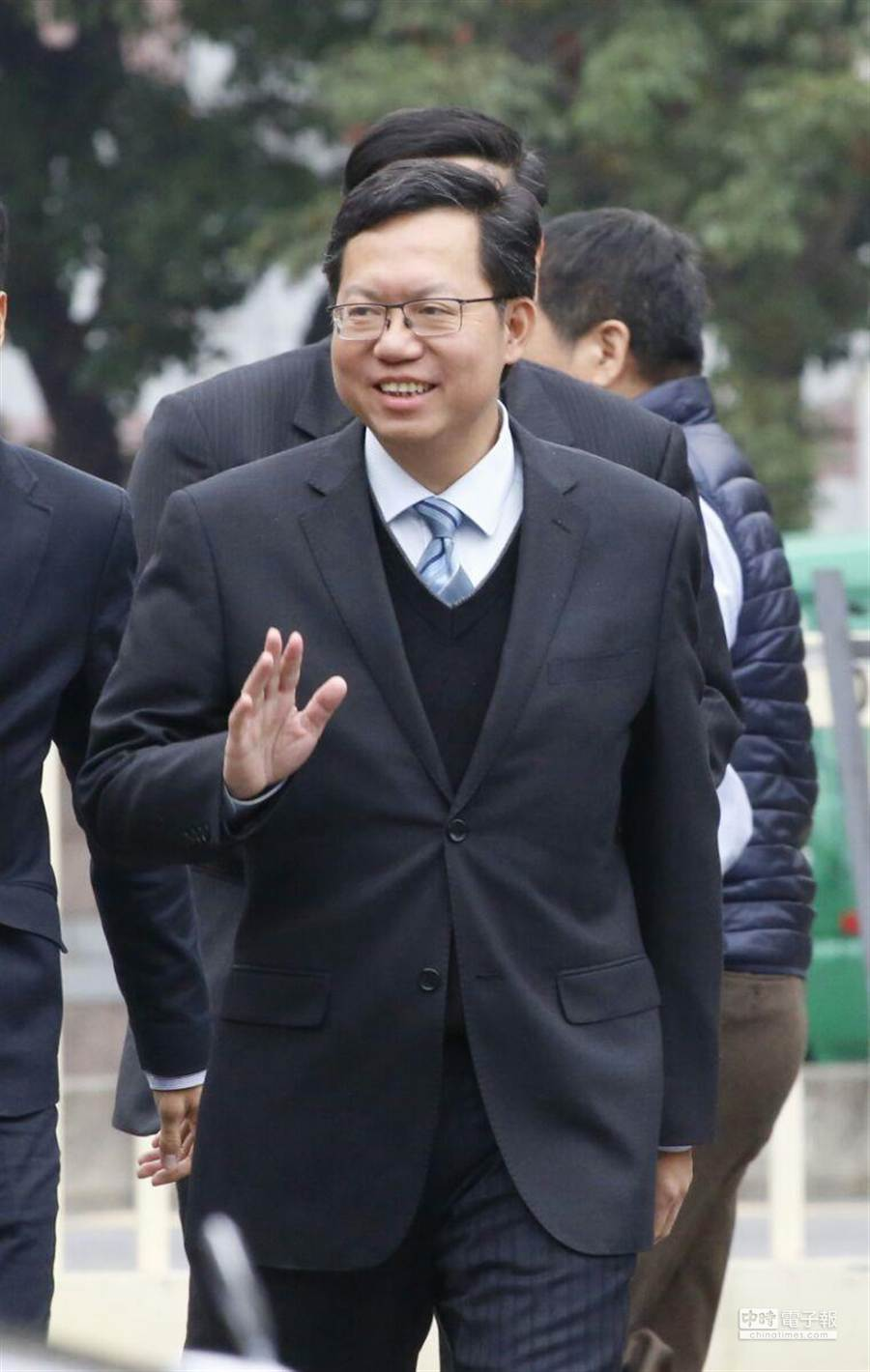 面對法官錢建榮的批評,鄭文燦回應從未說過航空城計畫要砍掉不練。(資料照/陳振堂攝)