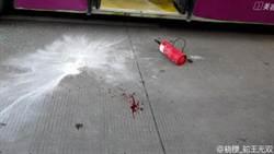 廈門公車突起火 乘客逃生受傷