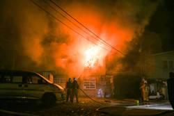 暗夜鐵皮屋大火 神農像被燒成灰燼