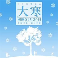 《24節氣之大寒》國曆一月二十日