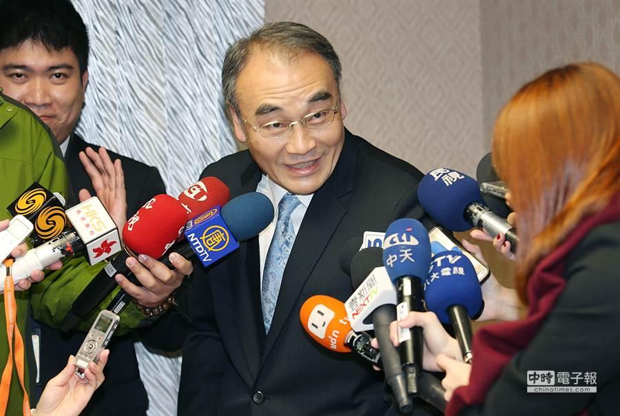國安局副局長王德麟。(姚志平攝)