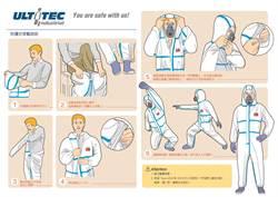 處理流感家禽 防護衣穿脫有方法