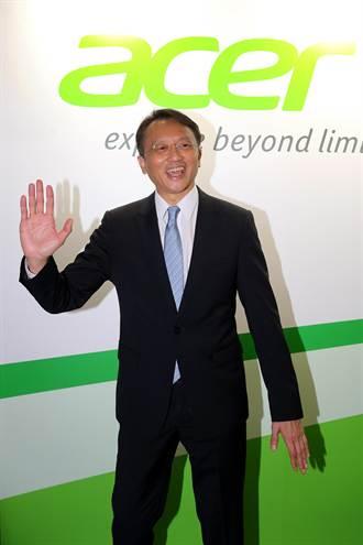 陳俊聖:宏碁智慧機出貨 可望倍增