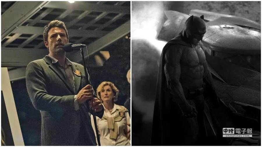 班艾佛列克(左圖/福斯電影《控制》;右圖/華納兄弟影業《蝙蝠俠大戰超人:正義曙光》)