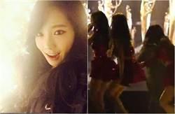 少女時代表演出意外 太妍摔落舞台