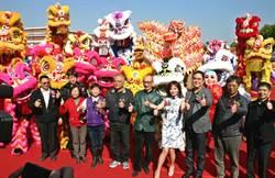 全國8大知名龍獅冠軍隊伍 觀摩表演賽