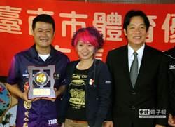 花撞世界冠軍 張玉龍受表揚