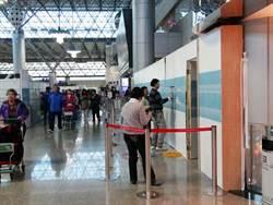 桃園國際機場工程隔板牆無預警倒塌