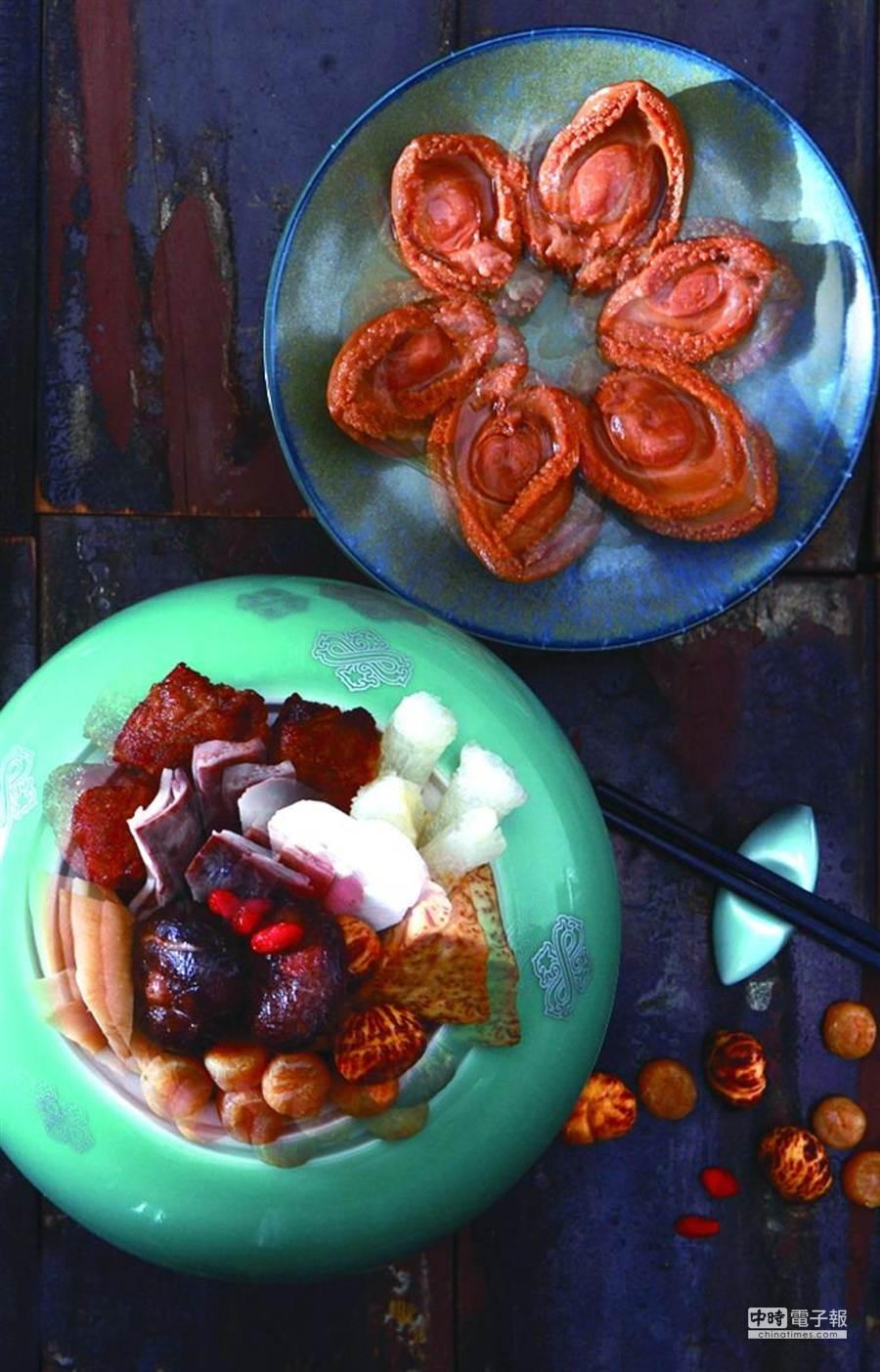 台北喜來登飯店〈請客樓〉推出的〈鴻運佛跳牆〉,使用了多種高檔食材入饌。(圖/台北喜來登飯店)