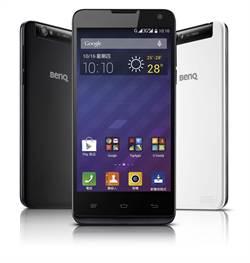 BenQ 最新智慧型手機B502纖薄登場