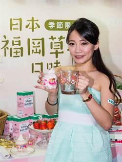 7-11福岡草莓霜淇淋 全台同步開賣
