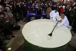 最大青檸派重454公斤 可餵飽2千人