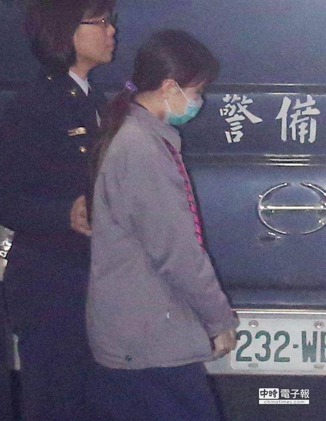 鹽奶殺嬰案,高等法院今天駁回檢方上訴,維持一審判決,女嬰「緗緗」的大伯母鄒雅婷,仍被依傷害致死罪重判20年,全案可上訴。(資料照片,陳卓邦攝)