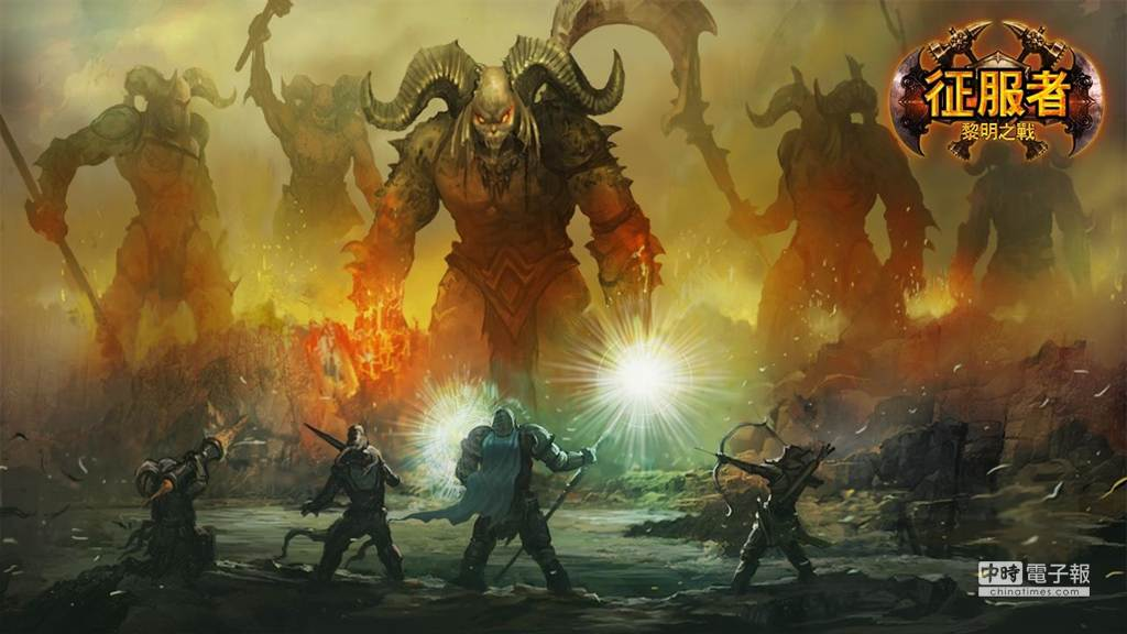 「LINE 征服者 - 黎明之戰」基本的故事模式可以了解遊戲世界觀,目前已有五大章節等玩家們來挑戰。(圖/LINE)