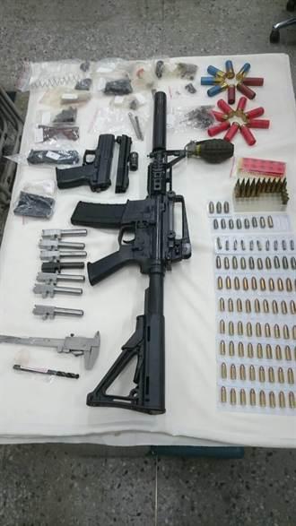 春安績效開張 市區偵破2起槍砲案