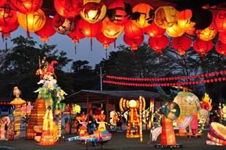 南投集集鄉土燈會 農曆年節連續假期交通管制
