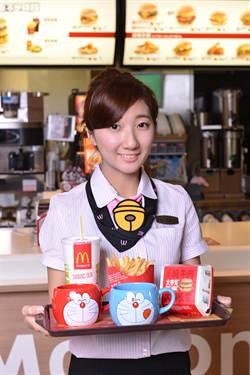 麥當勞×哆啦A夢限量杯 眨眼吐舌超萌