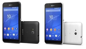 Sony Xperia  E4g發表 黑白雙色搶眼登場