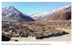 紐西蘭冰川發現失蹤42年登山客遺體