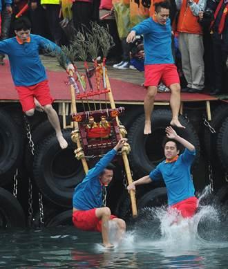 野柳神明淨港文化祭 進入最高潮