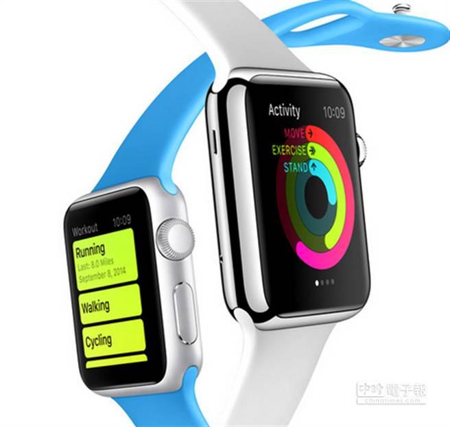 Apple Watch具備全新Activity App。 (圖/PhonaArena)