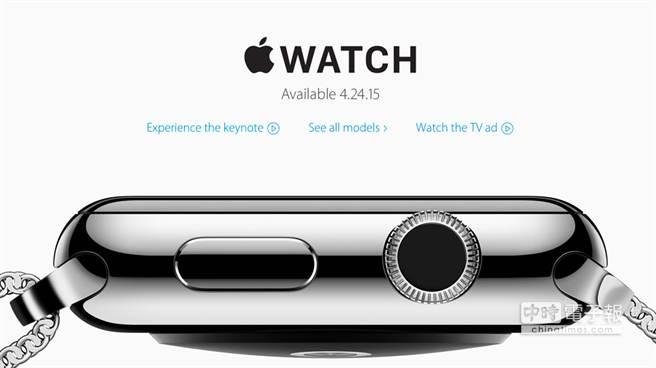 Apple Watch售價出爐,一如外界所料從349美元起跳。(摘自Apple.com)