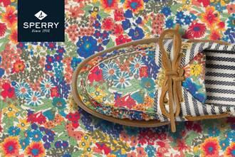 SPERRY X LIBERTY 限量聯名鞋款首度販售 繽紛登場
