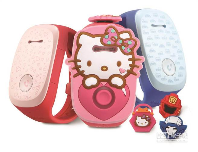 LG同步發表首款兒童穿戴式裝置KizON,符合孩童的生活使用習慣,讓家人間的聯繫關懷不間斷。(圖/LG)