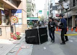 聯合報外牆剝落1死1傷 檢方勘驗