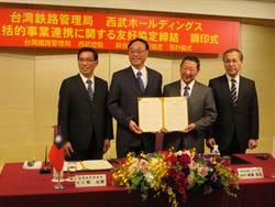 台鐵和日西武控股簽訂友好協定 長期合作