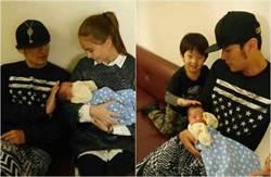 周董昆凌當現成爸媽 同抱嬰兒畫面太美