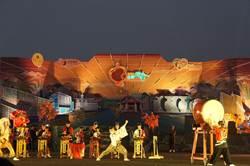 台灣燈會 日本駒根市太鼓壓軸演出