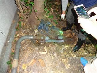 皮革廠排廢水進鳳山溪 被勒令停工