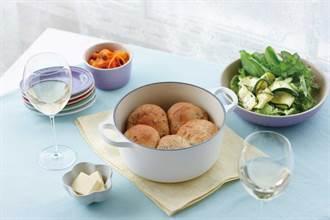 洋溢幸福感的春色.LE CREUSET Natural Kitchen新霧面系列 粉嫩登場