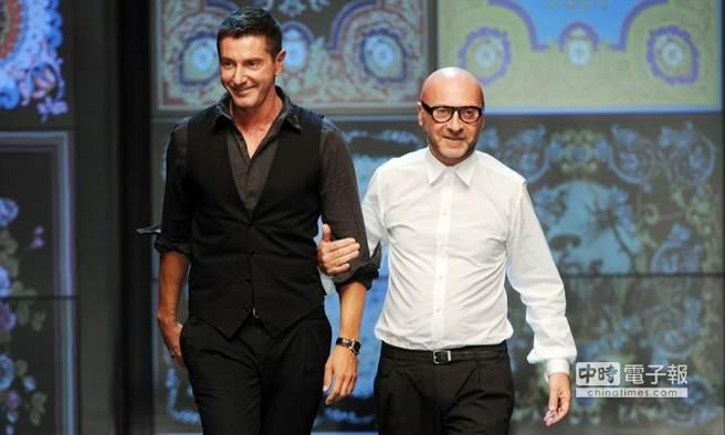 D&G創始設計師多切(右)和嘉巴納(左)是同性戀,且曾是一對戀人,卻堅決反對同性婚姻及同志養育子女。(翻攝自《全景》網站)