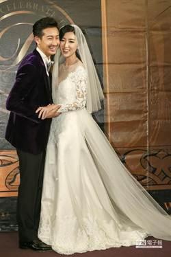 Darren迎娶美嬌娘 新娘露深V爆乳