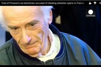 偷藏畢卡索271幅畫 法國夫婦被判刑