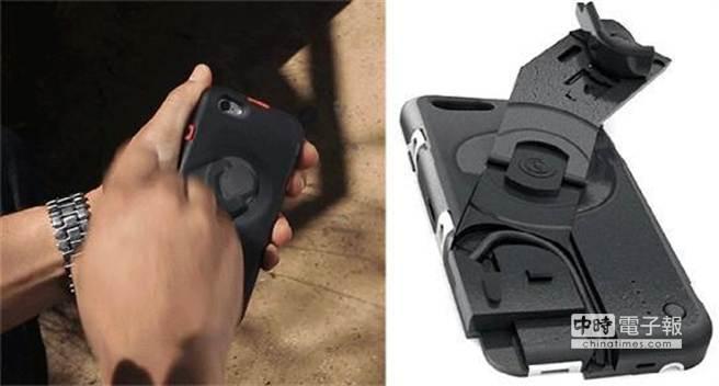 讓手機穿上手搖式充電保護殼AMPWARE,沒電時只要動手搖一搖,就可以為手機帶來不短的使用時間,感覺很不賴啊。(摘自Indiegogo)