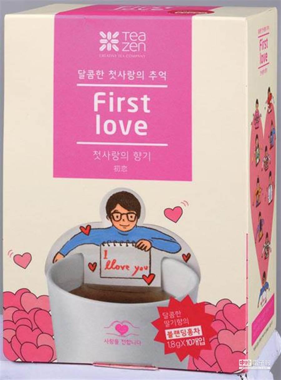 韓國Tea Zen療癒系茶包。圖片提供/家樂福