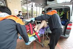 萬華火車站婦跳軌 無生命危險