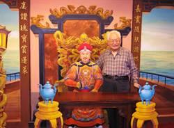 國內唯一 戲台布景彩繪師侯壽峰 登錄傳藝保存者