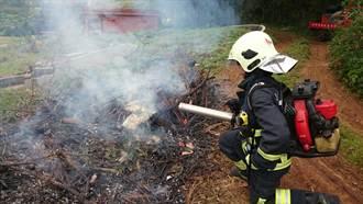 抗旱滅火神器 消防結合泡沫與吹葉機
