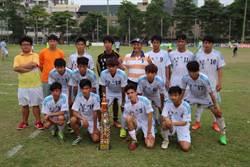 高中足球聯賽 中正高工拿下亞軍創20年最佳
